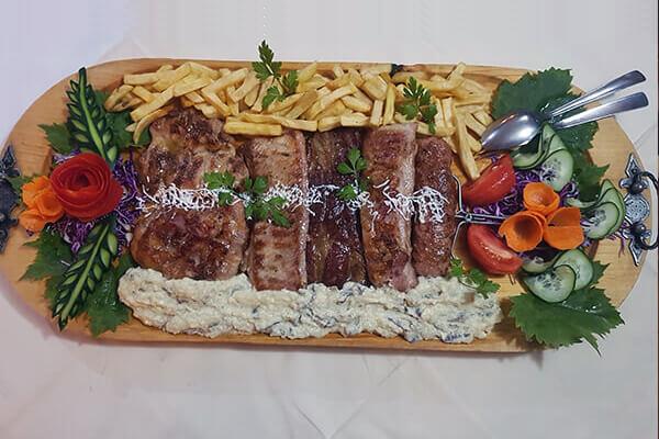 Veliki izbor jela sa roštilja